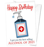 Funny Birthday Card Lockdown Dad Mum Brother Sister Son Daughter Him Her 2021