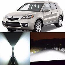 Alla Lighting High Beam Headlight 9005 White LED Bulbs for 2005~15 Acura RDX RL