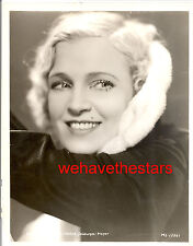 Vintage Irene Ware GORGEOUS GLAMOUR MGM Early 30s Publicity Portrait