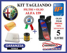 KIT TAGLIANDO FILTRI + OLIO IP 5W40 ALFA 159 1.9 JTS 118KW 160CV 2005 IN POI