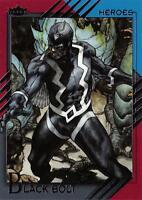 BLACK BOLT / 2015 Marvel Fleer Retro (Upper Deck) BASE Trading Card #02