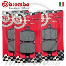 Pastiglie freno Brembo Carbon Piaggio X9 180 Amalfi 2003 Anteriori Posteriori
