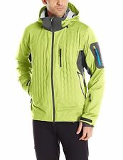 Mens Nudown Squaw Peak Snowboard Ski Jacket Polartec Primaloft Macaw/Asphalt-M