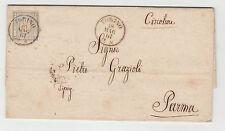 FRANCOBOLLI 1861 REGNO 2 CENT. ANNULLO DI TORINO 18/5/61 RIF. 3846
