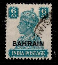 George VI (1936-1952) Used Bahraini Stamps