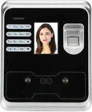 Ciglow 2.4-inch TFT LCD Screen Time Clock Checking, Fingerprint Face Recognition