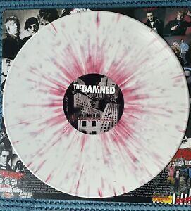 The Damned Mega Rare Machine Gun Etiquette Double Splattered Vinyl Gatefold Mint