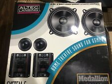 Rare Altec Lansing 5.25 Component Car Stereo Speakers Voice Of The Highway Audio