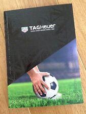 Tag Heuer Football Watch Catalogue / Brochure 2017 MUFC Ronaldo Ranieri NEW