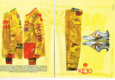 PUBLICITE ADVERTISING 104  2005  KEJO   sport baskets jean ( 2p)