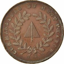 [#59025] France, Masonic, Token, 1807, Au(55-58), Copper, Labouret #186, 10.88