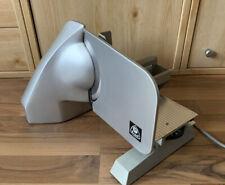 Graef EH-170T Allesschneider Brotmaschine Silber Chrom Standfuß