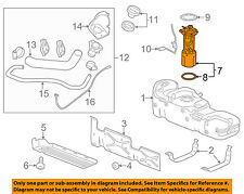 GM OEM-Fuel Pump 84212954