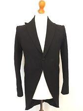 1931 Bespoke Mens Vintage Morning Coat Tails Tailcoat Size 38 (MC112)