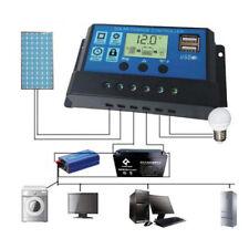12-24V 30A LCD PWM Solar Regler Batterie Regulator Laderegler Controller