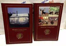 HUNTING CAMP LORE & HUNTIN' CAMP TALES. NORTH AMERICAN HUNTING CLUB. 2 BOOKS.