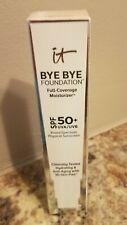 It Cosmetics Bye Bye Foundatio Full Coverage Moisturizer  SPF50(LIGHT MEDIUM)NIB