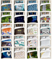 Decorative Bedroom Bedding Set with Shams and Duvet Cover by Ambesonne