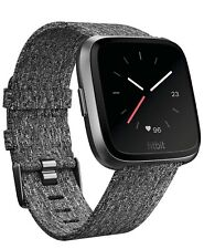 Fitbit Versa Special Edition Charcoal Band Lightly Used In Original Box