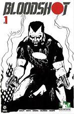 HERO INITIATIVE BLOODSHOT 50 PROJECT Original cover: JIM CALAFIORE CGC 9.8
