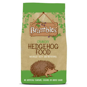 Brambles Crunchy Hedgehog Food for Wild Hedgehogs, Badgers & Foxes! 900g - 8kg
