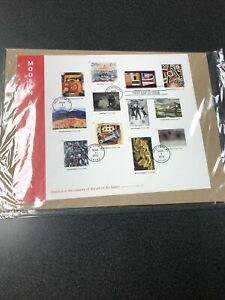 US 4748 Modern Art In America Souvenir Sheet First Day Of Issue 2013