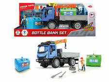 Dickie Toys Playlife Recycling IVECO Truck Bin Wagon Container Set Age 3