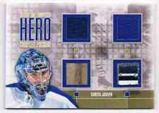 2013-14 HEROES & PROSPECTS HERO COMPLETE PACKAGE GOLD CURTIS JOSEPH JERSEY /