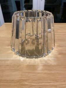 Used Laura Ashley Capri Glass Ceiling Shade - excellent condition