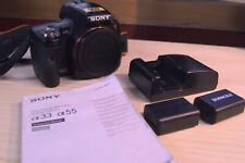 Sony A55 16Mp / 1080p (montura Sony A/Minolta A) con GPS y nivel