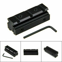 Tactical Scope Sight 10mm/11mm to 20mm Picatinny/Weaver Rail Adapter Mount~~