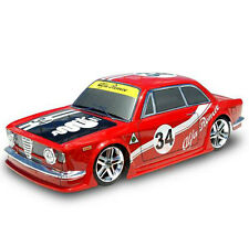 COLT 200mm Clear Body Set GIULIA GTA 1:10 RC Cars Drift Touring On Road #M2311