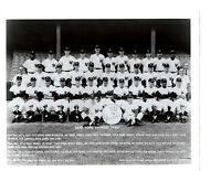 1966 NEW YORK YANKEES TEAM 8X10 PHOTO MANTLE MARIS  BASEBALL HOF  USA