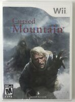 Cursed Mountain Wii Video Game, 2009 *BRAND NEW*