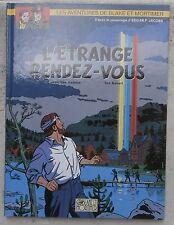 Blake et Mortimer L'étrange Rendez-vous EO 2001 strictement neuf