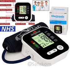 Portable Digital Upper Arm Blood Pressure Monitor Meter Intellisense 180 Memory