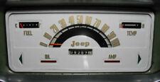 New 1962-1965 Kaiser Jeep Gladiator and Wagoneer Speedometer Glass