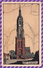 Carte Postale DELFT - groote markt