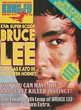 Kung-Fu Monthly-From Britain(1975)-No.25-Bruce Lee Cover And Poster