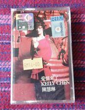 Kelly Chen ( 陳慧琳 ) ~ 愛情來了 ( Malaysia Press ) Cassette
