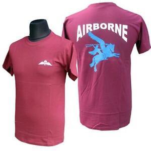 Pegasus Airborne Maroon T-Shirt