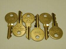 6 mal Originalschlüssel L550 für Löwen-Matrixtür