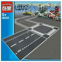 ENLIGHTEN City Road Street Baseplate Straight Crossroad Curve T-Junction