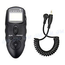 JJC Infrared LCD Timer Remote Control For Panasonic DMC-GX7 G7 G6 G5 FZ1000