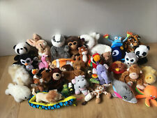 Large Joblot Of Soft Plush Safari Wildlife Zoo Pet Animal Toy Teddys Inc Hippo