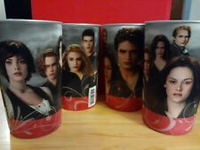 4 Twilight Saga Movie Promo Plastic Cup 3-D Holo BELLA EDWARD Summit 2009 USA