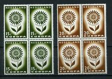 Nederland  Europa CEPT 1964 827-828 blokken v 4 - POSTFRIS