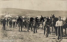 Soldier Group Troop of men West Kent Yeomanry Eastbourne Camp 1909 C O C Reilly