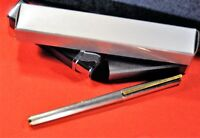 """S.T. Dupont""  Classic  Silver Plated&GT French Rollerball pen w/ box"
