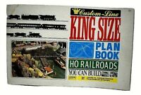 Atlas HO Model Railroad King Size Custom Line Plan Book 3 Cookie Cutter 1972 VTG